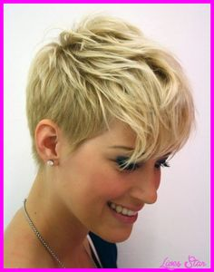 cool Very short haircuts for heart shaped faces