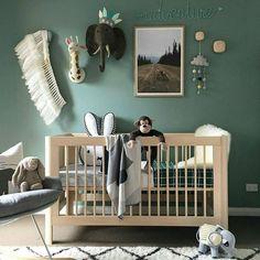 Jungle bedroom gender neutral nursery boho nursery