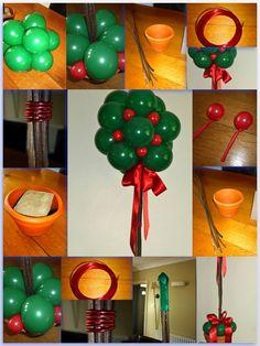 Christmas Decorations Ideas 2012 christmas balloons @ www.bellissimoballoonco.co.uk   christmas