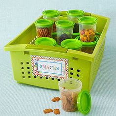 Snacks Kit....just right for hungry kiddos.
