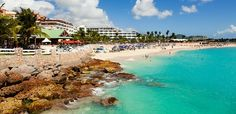 The Sonesta Maho Beach Resort offers all inclusive St Maarten honeymoon, vacation and wedding packages.This Sonesta Resort is located on a nice beach just 1/2 mile from the airport and 5 miles to down town Phillipsburg. This resort is now all inclusive with 520 rooms, 5 restaurants, 5 bars (1 is a swim up), 4 tennis courts, a chidren's program, a casino, spa and a night club.