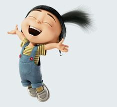 AGNES from Despicable Me. LOVE HER!  - Google Search