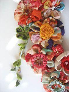 GORGEOUS flowers designed by Altelier Kanawa & Stacie Tamaki @ Etsy.com