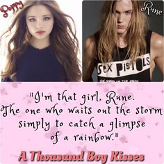 A Thousand Boy Kisses by Tillie Cole #PoppyAndRune #ReleaseDateMarch15th2016