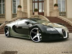 Bugatti Veyron // custom rims