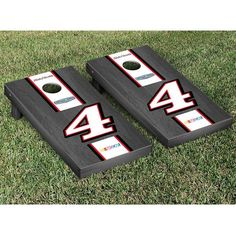 Kevin Harvick Onyx Stain Cornhole Game Set - $249.99