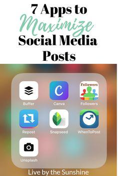 Are you looking for grow your social media presence? You know the importance of social media for your blog traffic, but growing your success on each platform isn't easy. To do this I recommend utilizing the following smart phone social media apps. While you do need the Facebook, Twitter, Pinterest and Instagram apps, just having … Social Media Apps, Editing Apps, Photo Editing, Instagram Apps, Marketing, Twitter, Lifestyle Blog, About Me Blog, Facebook