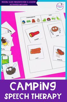 Camping language les