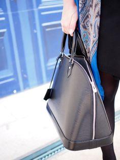 Bag, Louis Vuitton / scarf, Balmuir / In my ballerines blog
