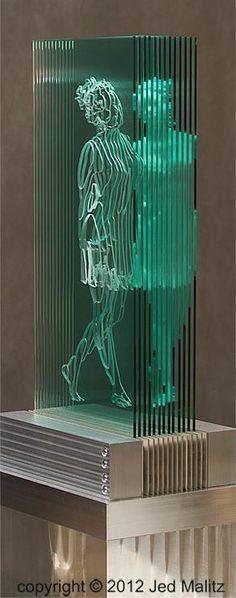 Siren Glass Sculpture