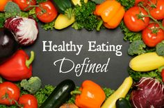 Healthy Eating Defined: Clearing up the Conflicting Messages