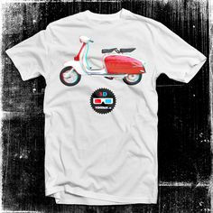 Lambretta 3D t shirt - 2ruote Collection - Vintage t shirts