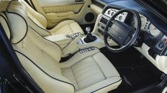 2000 Aston Martin Vantage Le Mans V600 interior