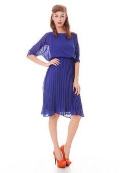 Chloe Edit Dress with pleated skirt
