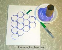 Kids will love these purple projects that they can create on their own! Here are 5 purple projects to make with kids!: Purple Grape Craft