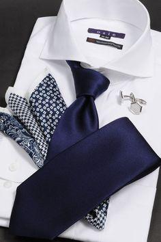 Dress shirt ensemble