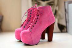walking the pink!