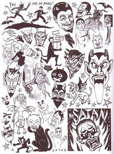 vintage clip art, ephemera, Craphound Magazine, death, skulls, bird, dark, gig poster, vintage advertising, graphic design, Sean Tejaratchi, motorcycle clip art, grave, design inspiration, Art Chantry, punk, devil