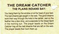 History Of Dream Catchers Amazing Beautiful Story To Read To Kids  Then Hang A Dreamcatcher In Their