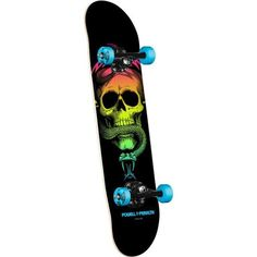 Hand Painted Skateboard ❤ liked on Polyvore featuring skateboards, other, accessories and skate