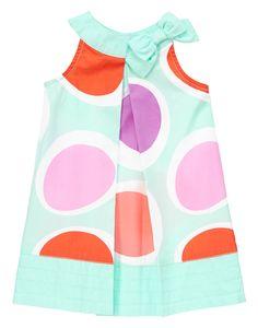 Big Dot Bow Dress at Gymboree