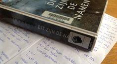 'Dit zijn de namen' van Tommy Wieringa, een boek dat in je hoofd blijft hangen. mijn leeservaring staat op mijn blog.