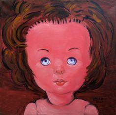 Doll, 2008, / 80x80 cm. /  € 3000.=  www.philbloom.com