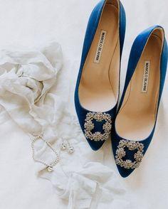 wedding shoes blue Fashion-forward wedding shoes inspired by Pantones Classic Blue Blue Bridal Shoes, Bridal Heels, Wedding Heels, Chic Wedding, Wedding Trends, Perfect Wedding, Lavender Bridesmaid, Dusty Blue Weddings, Bridal Earrings