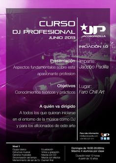 Curso DJ profesional junio 2013