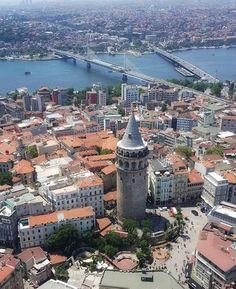 Galata, Istanbul, Turkey Istanbul City, Istanbul Turkey, Capadocia, Ancient Buildings, World Cities, Places Of Interest, New York, Paris Skyline, Egypt