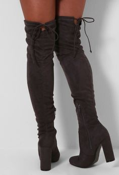 For sale online pay with visa for sale Clarissa Knee High Boots Grey STYLE REPUBLIC 5oLP9ayL