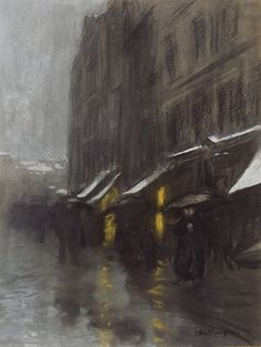 Kees van Dongen, Scène de rue