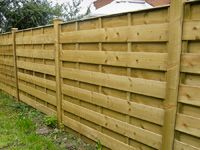 Ranch Style Panel Fencing
