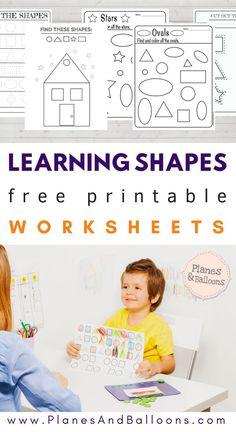 Free printab;e shape