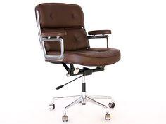 Bild von Stuhl-Design Eames Lobby ES104 - Braun