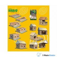 Walachia - Costruzioni in legno - VARIO 72 pezzi | lalberoazzurro.net
