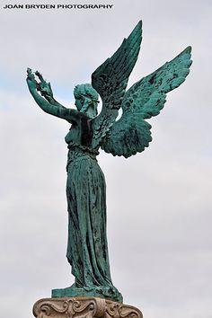 The Black Angel: A Boer War Memorial, Penrith, Cumbria