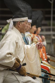 Ritual archery at Yasukuni Shrine on the third day of the New Year