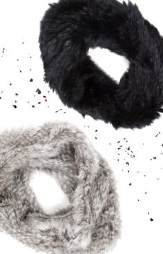 From the Joie Holiday Gift Guide: Our luxe Lonica infinity scarf in super soft rabbit fur will keep you warm all fall and winter long.