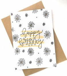 Happy Birthday Cards Handmade, Creative Birthday Cards, Happy Birthday Card Design, Birthday Card Drawing, Happy Birthday Drawings, Card Ideas Birthday, Friend Birthday Card, Cute Birthday Cards, Cards For Men