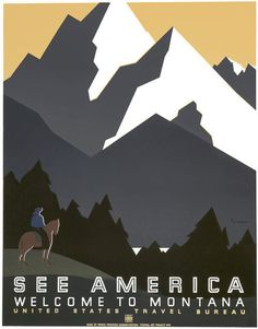 See America: Welcome to Montana – Vintagraph