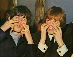 Keith Richards and Brian Jones (The Rolling Stones)