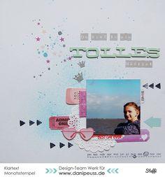 Layout mit dem #dpJanuarkit15 #Stempel #AddOn von Steffi Wienberg für www.danipeuss.de