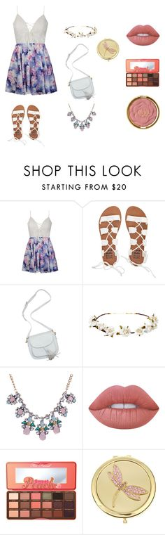 """""""Japan Summer Trip"""" by alexandra-york on Polyvore featuring Ally Fashion, Billabong, Cult Gaia, Lime Crime, Too Faced Cosmetics, Monet and Milani"""