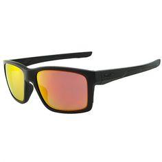 Óculos de Sol Oakley Mainlink Preto com Lente Rubi Polarizada - OO926407
