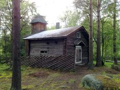 Forest Church in Pattijoki, Northern Ostrobothnia, Finland   Pattijoen Metsäkirkko, Pohjois-Pohjanmaa