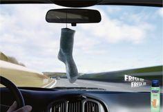 Hansaplast Foot Spray: Sock