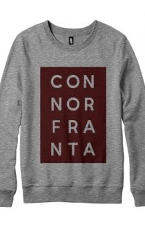 Limited Edition Block Crewneck Hoodie - ConnorFranta Hoodies - Official Online Store on District Lines