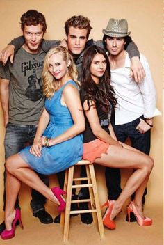 I love this picture!!! but instead of Stefan, can it be me there? and get rid of the girls