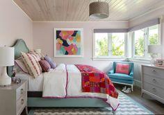 colorful bedroom by Studio80 Interior Design